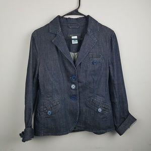 Marc Jacobs Denim Jacket Blazer Size 12